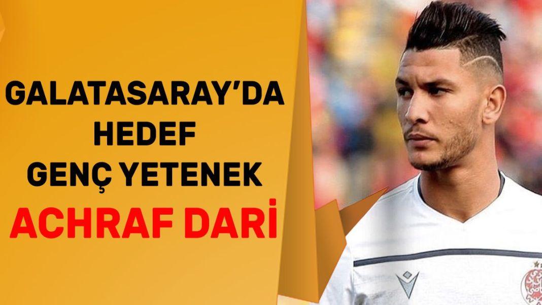 Galatasaray Achraf Dari için teklif yaptı