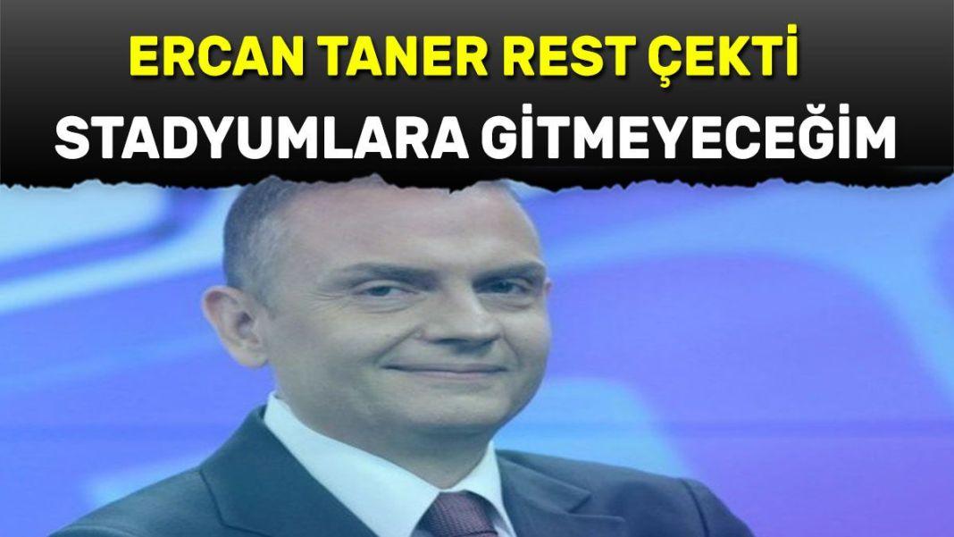 Ercan Taner rest çekti