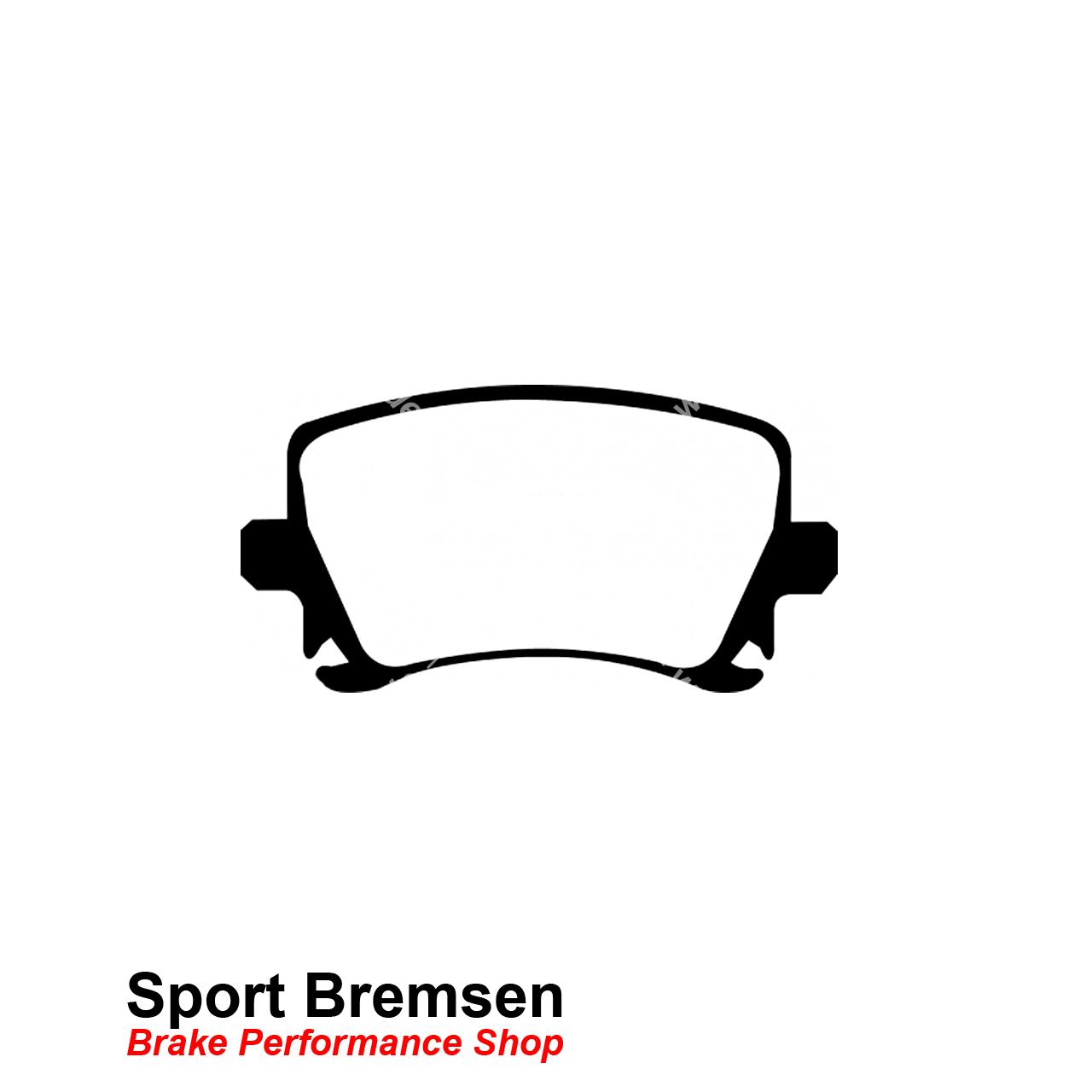 Ebc Redstuff Keramik Bremsbelage Fur Vw Golf 5 R32
