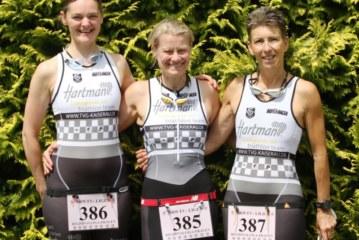 Gelungener Saisonstart des neu gegründeten Damen-Regionalligateams vom Hartman-Triathlon-Team des TVG Kaiserau