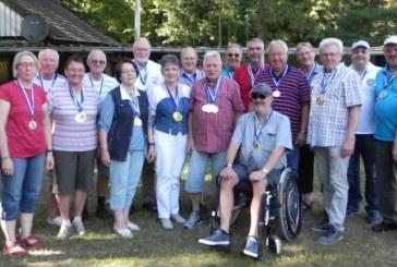 Schießgruppe Overberge: Sommerfest und Ehrung der Kreissieger