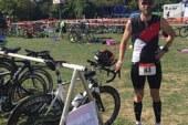 Daniel Kusche verbessert Vorjahreszeit beim Wesel-Triathlon