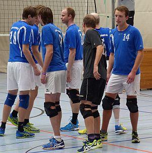 KSV-Volleyballer stürzen Tabellenführer Hamm