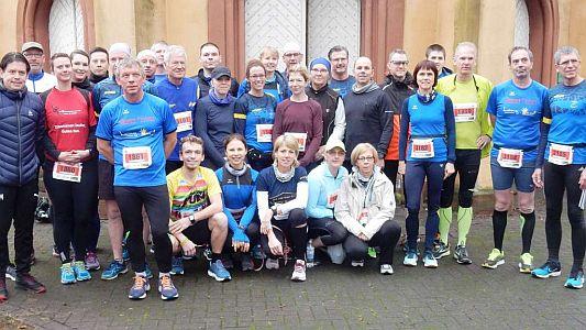 40 Lauffreunde aus Bönen beim Silvesterlauf von Werl nach Soest unterwegs