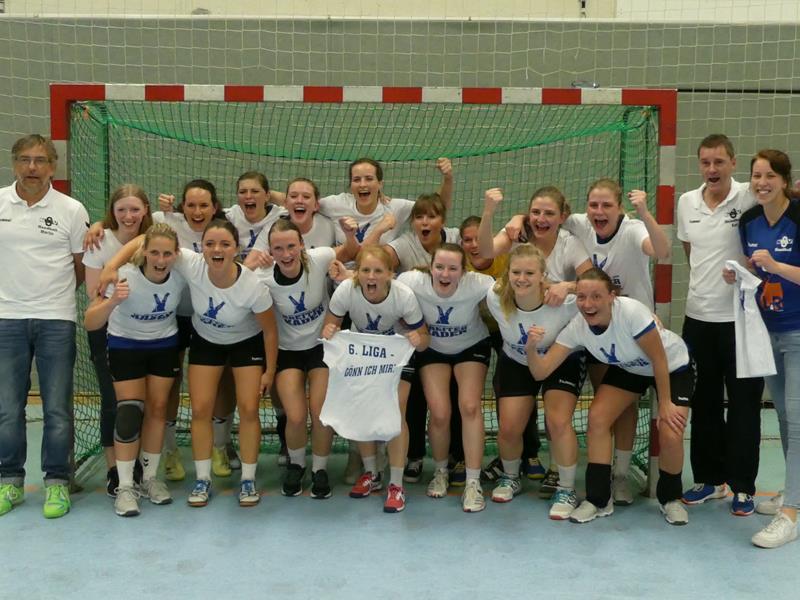 Zweite Damenmannschaft des Königsborner SV Bezirksliga-Meister