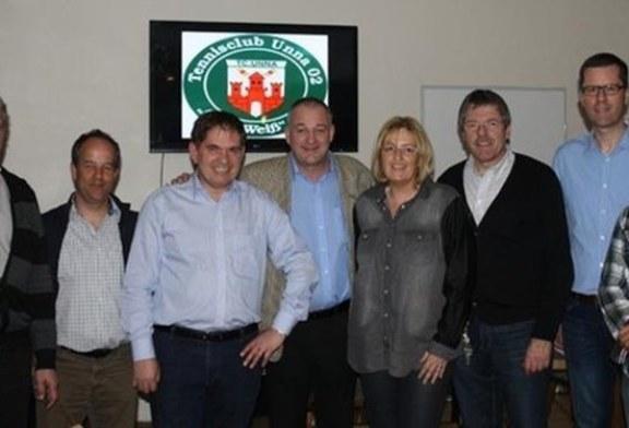 Jugendarbeit gehört auch weiterhin zu den Prioritäten beim TC Unna Grün-Weiß – Anstieg der Mitgliederzahlen