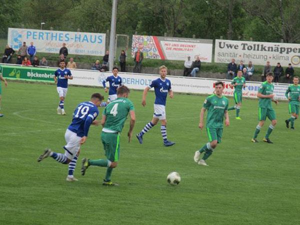 HSC holt wichtigen Bonuspunkt mit 2:2 gegen Schalke II