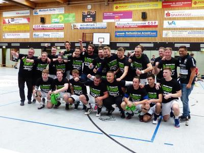 Handball-Bezirksliga: SuS Oberaden II macht das Meisterstück