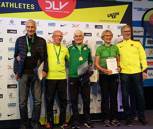 Michael Taube DM-Dritter im Halbmarathon