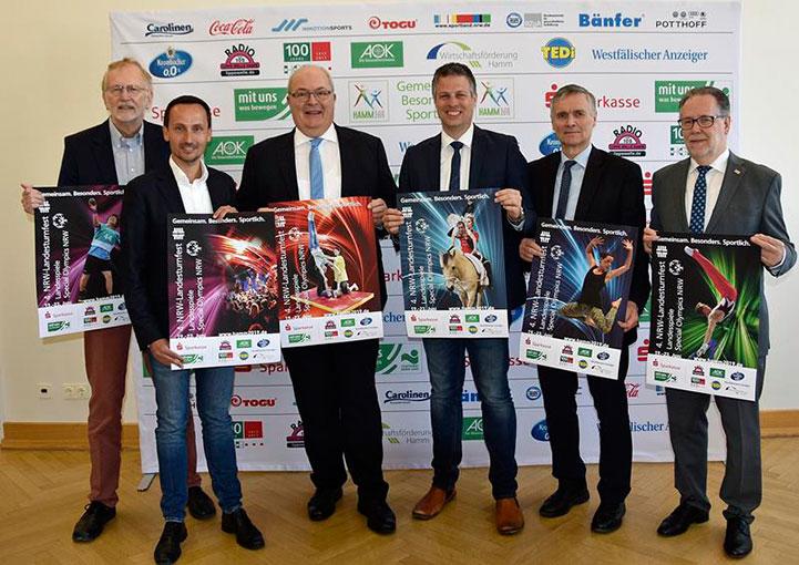 Rund rund 10.000 Sportlerinnen und Sportler im Juni zu Gast beim NRW-Landesturnfest in Hamm