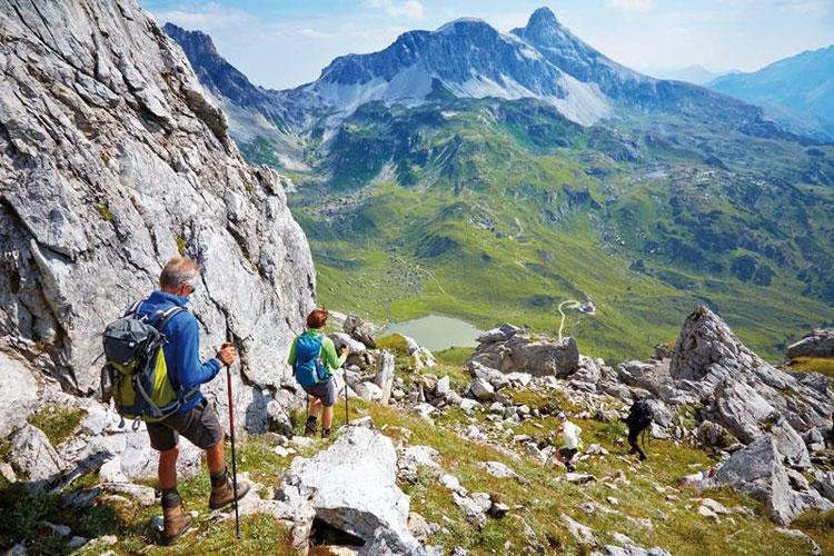 Restplätze für die Genusswandertour durch die Kitzbüheler Alpen im September 2019 des KSB Unna