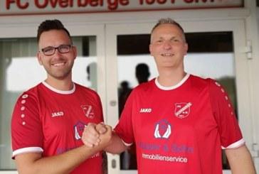Volker Grahl und Christian Jagodzinski trainieren kommende Saison die 1. Mannschaft des FC Overberge