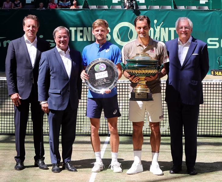 """Roger Federer: """"Ich hätte nie gedacht, dass ich hier so oft und so lange siegen würde"""""""