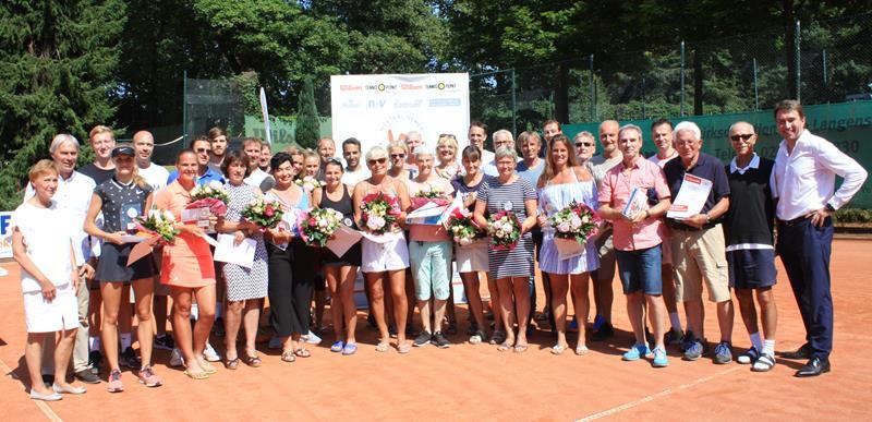 86. Westfälische Tennis-Meisterschaften Damen und Herren sowie Seniorinnen und Senioren: Titelträger stehen fest
