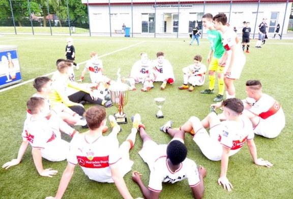 VfB Stuttgart gewinnt zum sechsten Mal das internationale Pfingstturnier – 1:0 im Finale gegen den BVB