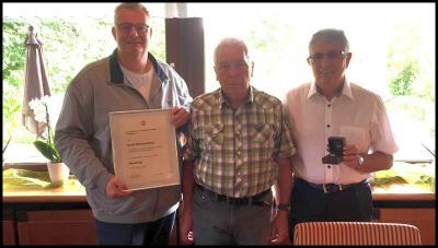 FLVW-Ehrenring für Horst Weischenberg