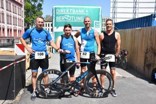 Lauf Team Unna-Triathleten bestehen bei der Hitzeschlacht am Phoenixsee