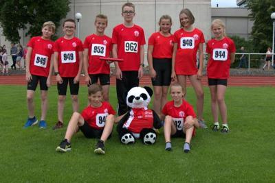 TuRa-Leichtathleten mit Platz eins und drei bei den Kreismeisterschaften Langstaffel in Bönen