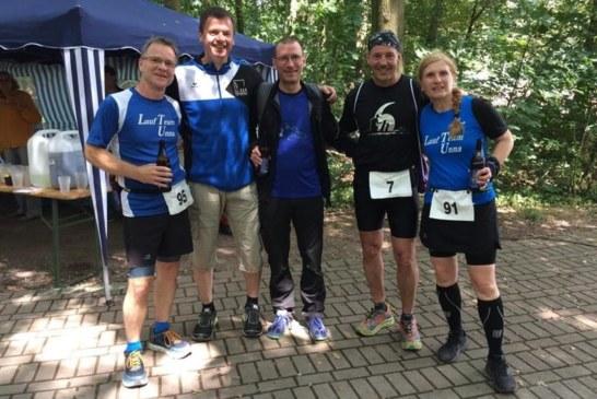 Rund um die Regattabahn mit fünf Mitgliedern vom Lauf Team Unna