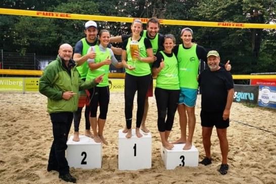 Spannendes Finale bei Westdeutscher Kronen Mixed Meisterschaft 2019 – Sarah Man und Nick Herbertz holen erstmals den BVB-Titel
