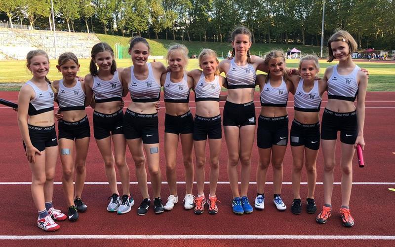 TVU-Mädchen nähren berechtigte Hoffnungen auf einen Podiumsplatz bei den westfälischen Endkämpfen