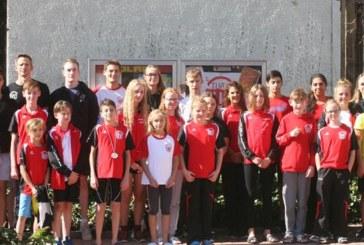 Internationales Schwimmfest der WasserfreundeTuRa Bergkamen: 16 Vereine – 260 Aktive – 1439 Starts