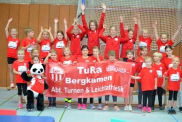 Zwei Podestplätze für TuRa beim Kinderleichtathletik-Sportfest in Schwerte