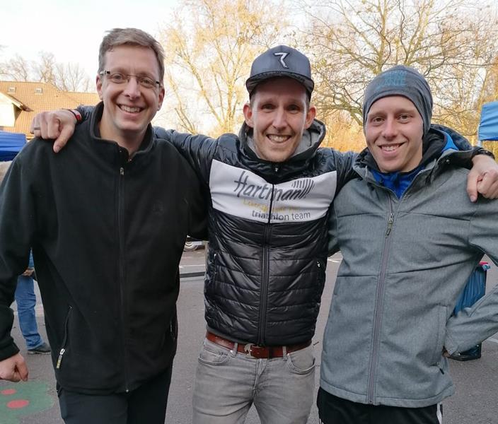 TVG-Trio beim Kurparklauf erfolgreich