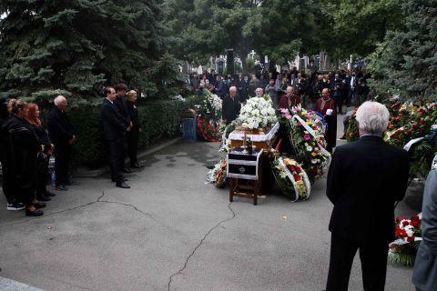 Εικόνες από την κηδεία του Ντούσαν Ίβκοβιτς