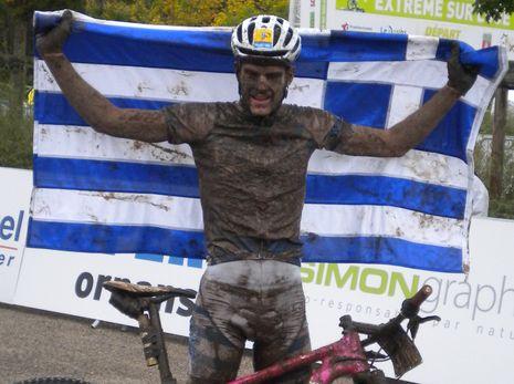 Mondiali Marathon MTB: il greco Periklis entra nella storia