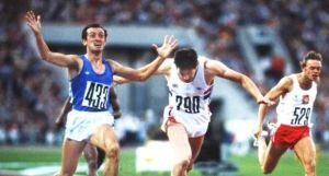 Pietro Mennea s'impone nella finale dei 200 metri a Mosca 1980