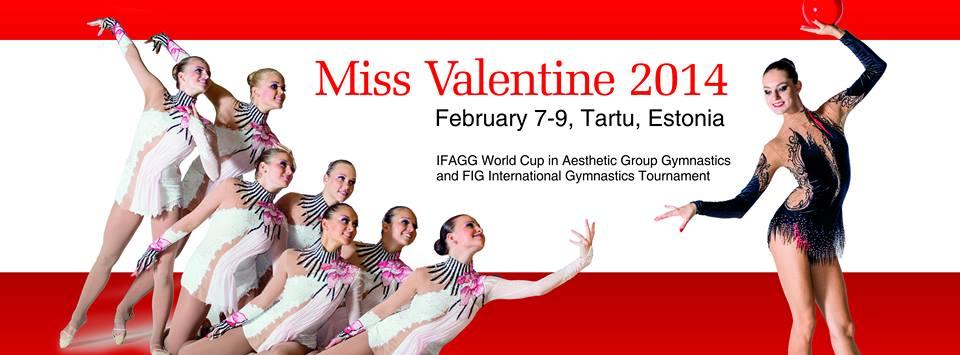 Miss Valentine 2014, Ginnastica Ritmica