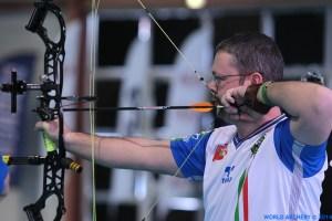 Sergio Pagni, Mondiali Arco Indoor