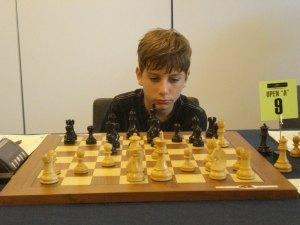 Luca Moroni, Scacchi, Open di Lugano di scacchi