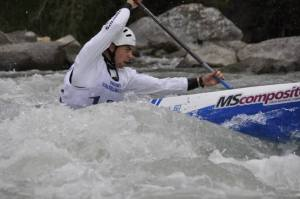 Giorgio Dell'Agostino, Mondile canoa discesa Valtellina