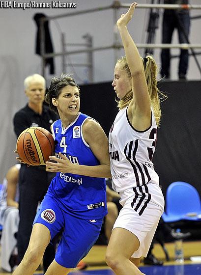 Lettonia Italia Eurobasket Women 2015