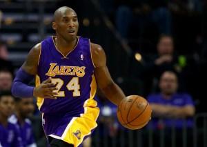 Kobe Bryant in azione nell'ultima stagione
