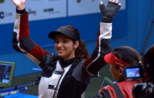 Mondiali Tiro, Carabina 10 metri, Petra Zublasing