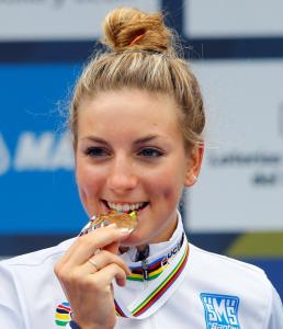 Pauline Ferrand Prevot, Mondiali ciclismo, Ponferrada 2014