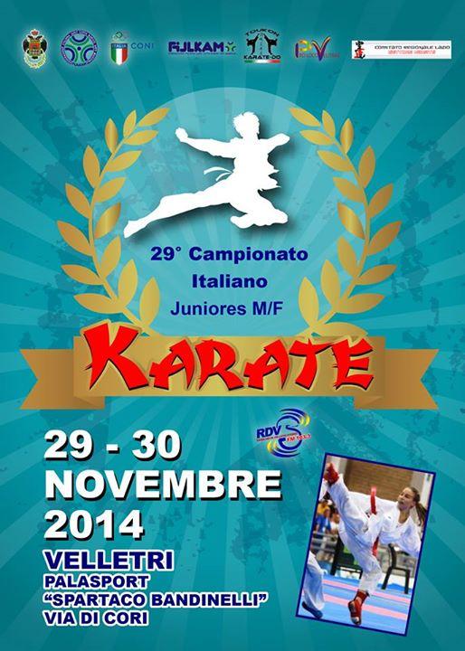 Campionato Italiano Juniores Kumite a Velletri