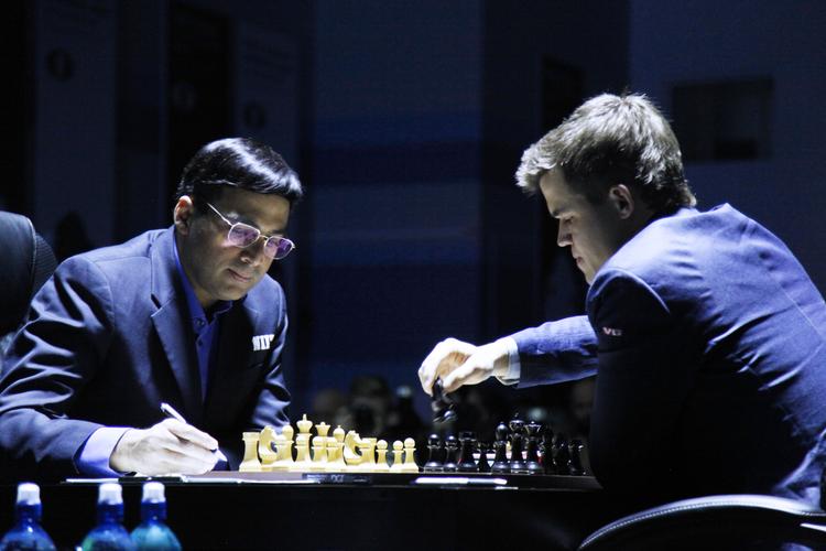 Mondiale Scacchi 2014, Anand, Carlsen