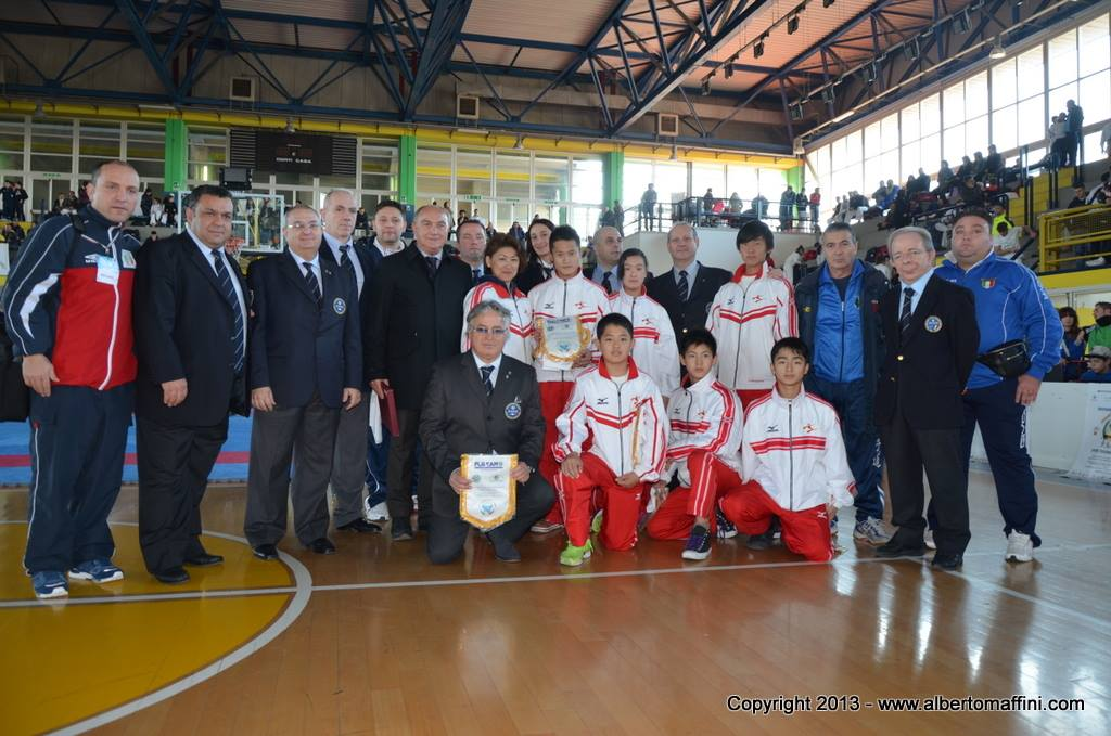 Open di Campania, Karate, Kata, Kumite