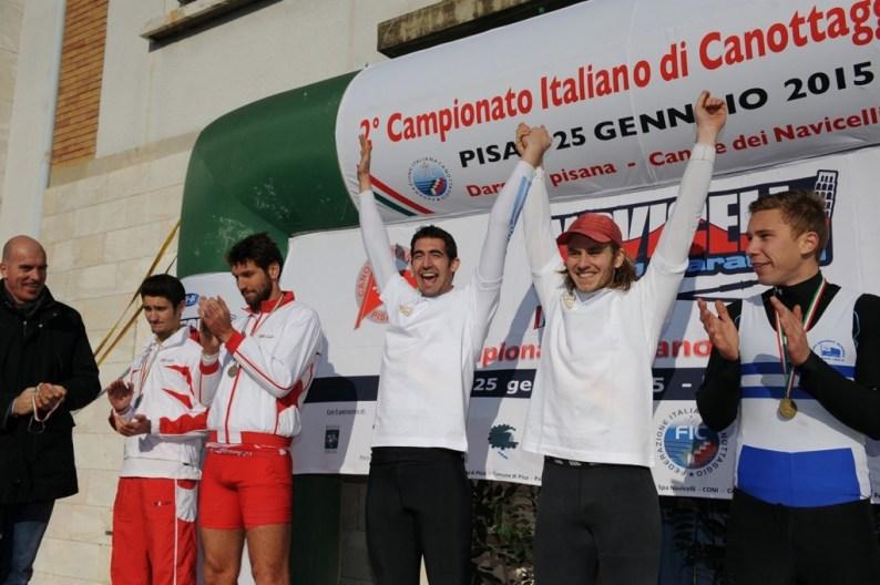 Tricolori di Gran Fondo canottaggio: assegnati i titoli italiani