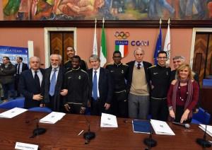 Sport e Integrazione, Roma, Salone d'Onore del CONI (foto mezzelani)