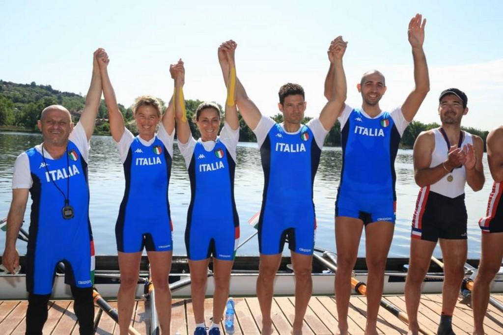 Internazionale Para rowing gavirate