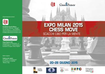 Expo Milan 2015 Chess Move