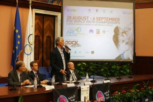2015 IFSC Clinbing world youth championship - Conferenza stampa - foto Ilario Biondi