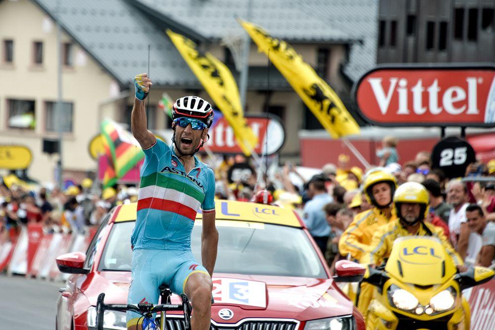 Tour de France 2015 - 24/07/2015 - 19ème Etape - Saint Jean de Maurienne / La Toussuires-Les Sybelles - 138km - Victoire de Vincenzo NIBALI (AST)