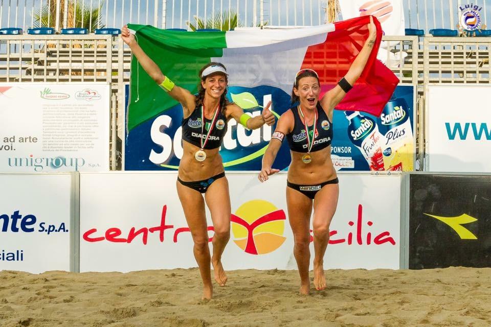Tricolori beach volley, Cicolari Momoli
