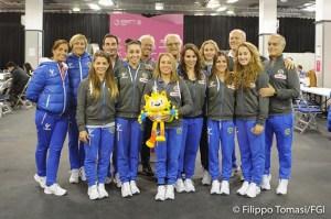 Mondiali artistica, squadra donne